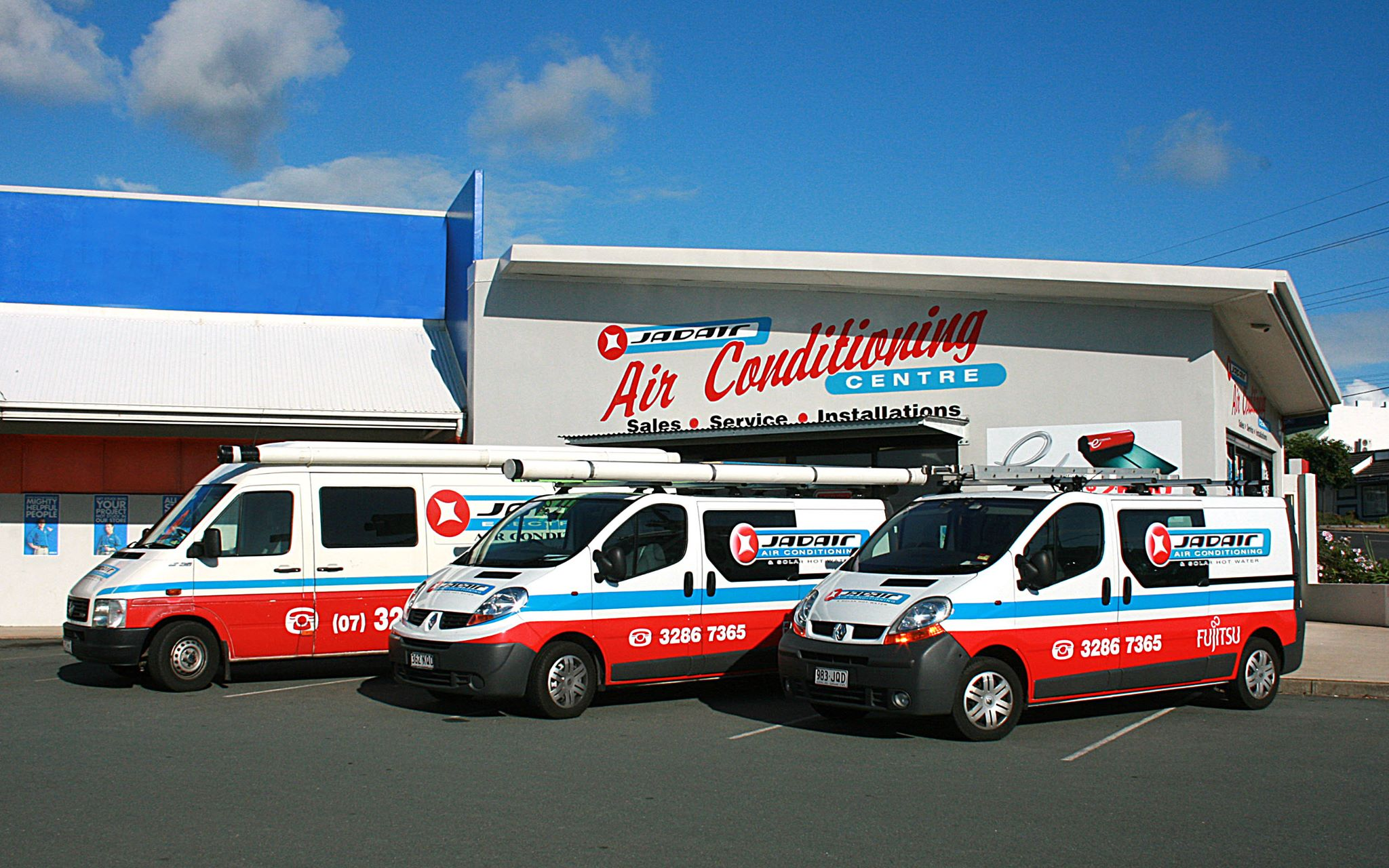 jadair office and vehicles